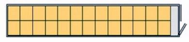 45Lik Palet Genişliğinde Konteyner 26 Standart Palet